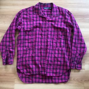 Vintage Patagonia button up long sleeve shirt